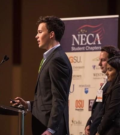 NECA / ECA Chicago Student Chapter Finalist in Green Energy Challenge